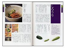 100の素材と日本料理 (見本)