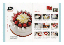 ケーキ デコレーションテクニック(見本)