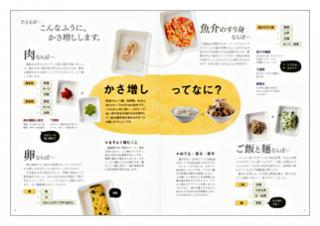 野崎さんのおいしいかさ増しダイエットレシピ(見本)