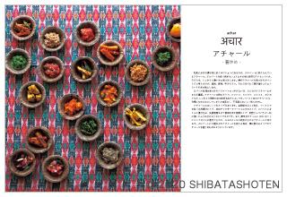 ダルバートとネパール料理(見本)