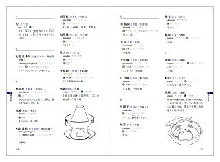 中国料理小辞典(見本)